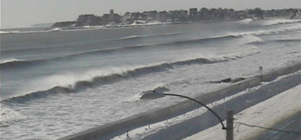 The wall Nor'easter